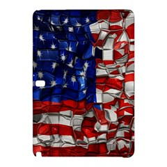 American Flag Blocks Samsung Galaxy Tab Pro 10.1 Hardshell Case