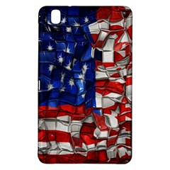 American Flag Blocks Samsung Galaxy Tab Pro 8.4 Hardshell Case