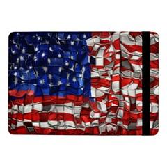 American Flag Blocks Samsung Galaxy Tab Pro 10 1  Flip Case