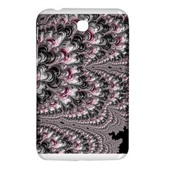 Black Red White Lava Fractal Samsung Galaxy Tab 3 (7 ) P3200 Hardshell Case