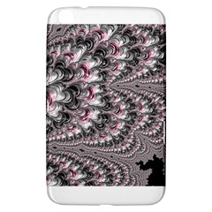 Black Red White Lava Fractal Samsung Galaxy Tab 3 (8 ) T3100 Hardshell Case