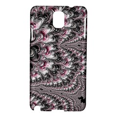 Black Red White Lava Fractal Samsung Galaxy Note 3 N9005 Hardshell Case