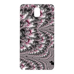 Black Red White Lava Fractal Samsung Galaxy Note 3 N9005 Hardshell Back Case