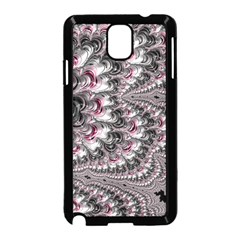 Black Red White Lava Fractal Samsung Galaxy Note 3 Neo Hardshell Case (Black)