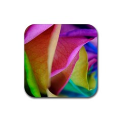 Rainbow Roses 16 Drink Coaster (square)