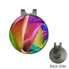 Rainbow Roses 16 Hat Clip with Golf Ball Marker