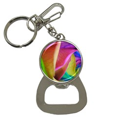 Rainbow Roses 16 Bottle Opener Key Chain