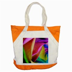 Rainbow Roses 16 Accent Tote Bag