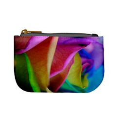 Rainbow Roses 16 Coin Change Purse