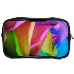 Rainbow Roses 16 Travel Toiletry Bag (two Sides)