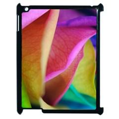 Rainbow Roses 16 Apple Ipad 2 Case (black)