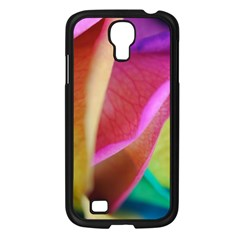 Rainbow Roses 16 Samsung Galaxy S4 I9500/ I9505 Case (black)
