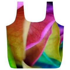 Rainbow Roses 16 Reusable Bag (XL)