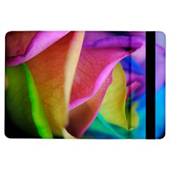 Rainbow Roses 16 Apple Ipad Air Flip Case