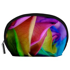 Rainbow Roses 16 Accessory Pouch (Large)
