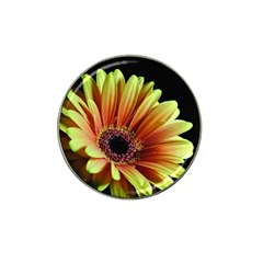 Yellow Orange Gerbera Daisy Golf Ball Marker 10 Pack (for Hat Clip)