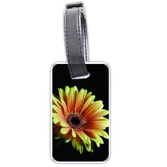 Yellow Orange Gerbera Daisy Luggage Tag (two Sides)