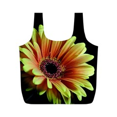 Yellow Orange Gerbera Daisy Reusable Bag (M)