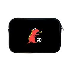 Black Cartoon Dinosaur Soccer Apple Ipad Mini Zippered Sleeve
