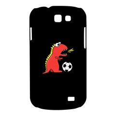 Black Cartoon Dinosaur Soccer Samsung Galaxy Express I8730 Hardshell Case