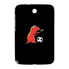 Black Cartoon Dinosaur Soccer Samsung Galaxy Note 8 0 N5100 Hardshell Case