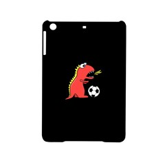 Black Cartoon Dinosaur Soccer Apple Ipad Mini 2 Hardshell Case