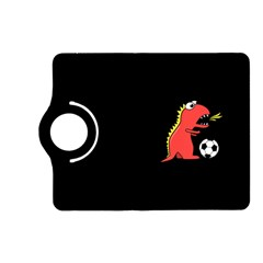Black Cartoon Dinosaur Soccer Kindle Fire Hd 7  (2nd Gen) Flip 360 Case