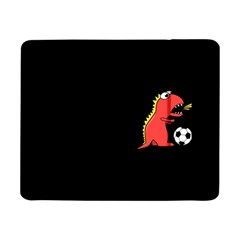 Black Cartoon Dinosaur Soccer Samsung Galaxy Tab Pro 8.4  Flip Case