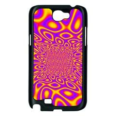 Psycedelic Warp Samsung Galaxy Note 2 Case (Black)