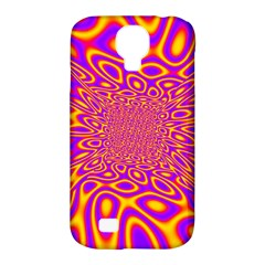 Psycedelic Warp Samsung Galaxy S4 Classic Hardshell Case (PC+Silicone)