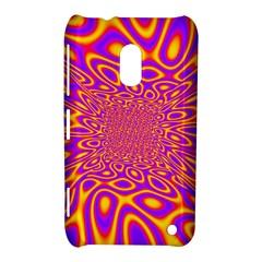 Psycedelic Warp Nokia Lumia 620 Hardshell Case