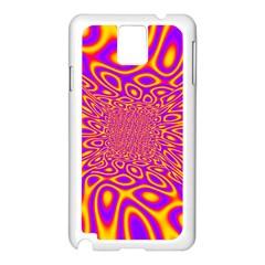 Psycedelic Warp Samsung Galaxy Note 3 N9005 Case (White)