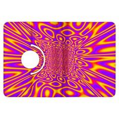 Psycedelic Warp Kindle Fire Hdx 7  Flip 360 Case