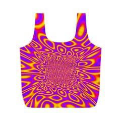 Psycedelic Warp Reusable Bag (M)