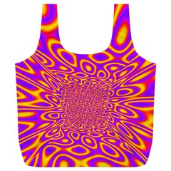Psycedelic Warp Reusable Bag (xl)