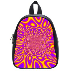 Psycedelic Warp School Bag (small)