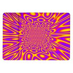Psycedelic Warp Samsung Galaxy Tab 10 1  P7500 Flip Case