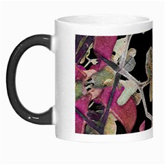 Floral Arabesque Decorative Artwork Morph Mug