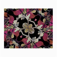 Floral Arabesque Decorative Artwork Glasses Cloth (Small, Two Sided)