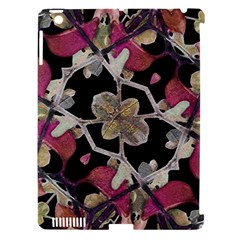 Floral Arabesque Decorative Artwork Apple Ipad 3/4 Hardshell Case (compatible With Smart Cover)