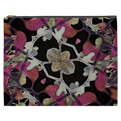 Floral Arabesque Decorative Artwork Cosmetic Bag (XXXL)