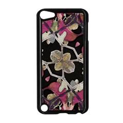 Floral Arabesque Decorative Artwork Apple iPod Touch 5 Case (Black)