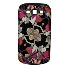 Floral Arabesque Decorative Artwork Samsung Galaxy S III Classic Hardshell Case (PC+Silicone)