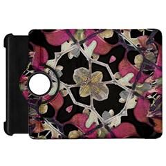 Floral Arabesque Decorative Artwork Kindle Fire HD 7  (1st Gen) Flip 360 Case