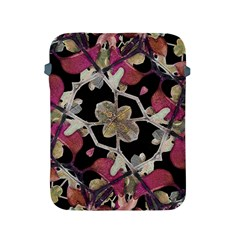 Floral Arabesque Decorative Artwork Apple Ipad Protective Sleeve