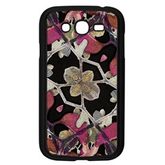 Floral Arabesque Decorative Artwork Samsung Galaxy Grand Duos I9082 Case (black)