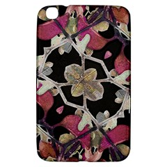 Floral Arabesque Decorative Artwork Samsung Galaxy Tab 3 (8 ) T3100 Hardshell Case