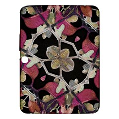 Floral Arabesque Decorative Artwork Samsung Galaxy Tab 3 (10.1 ) P5200 Hardshell Case