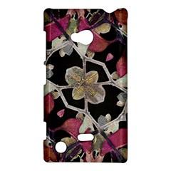 Floral Arabesque Decorative Artwork Nokia Lumia 720 Hardshell Case