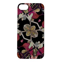Floral Arabesque Decorative Artwork Apple iPhone 5S Hardshell Case